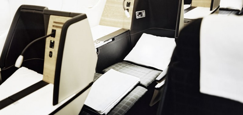 SWISS Business seat